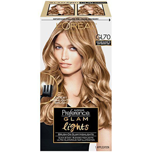 L Oreal Superior Preference 6am Light Amber Brown Fade Defying Hair Color