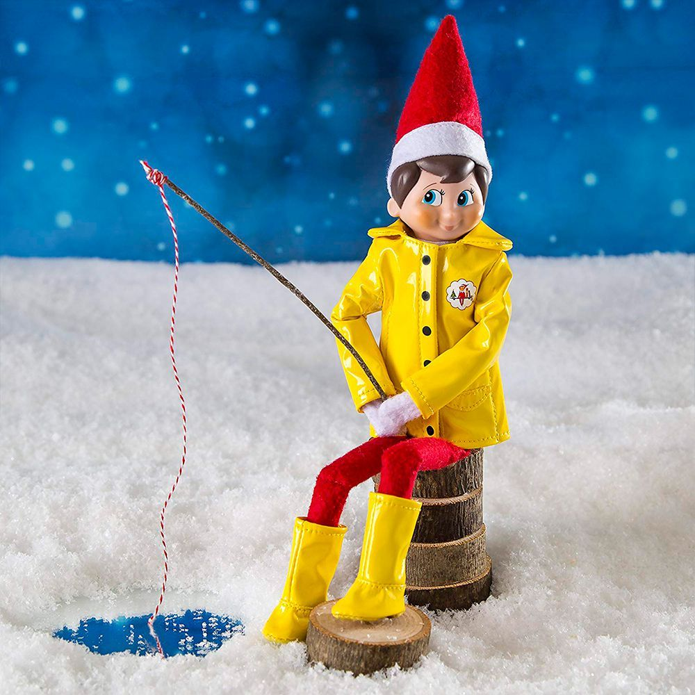Image result for elf on the shelf fishing