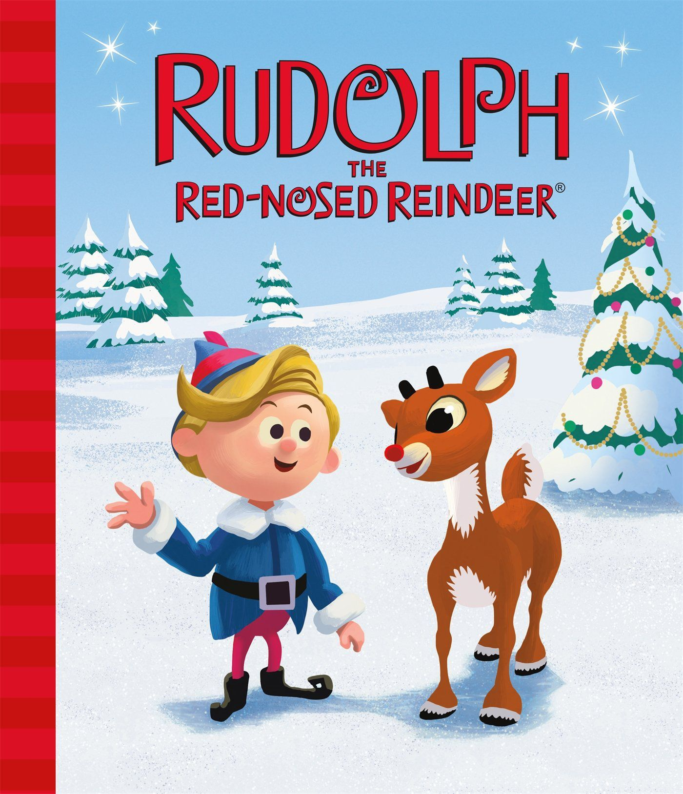 Kids Christmas.Rudolph The Red Nosed Reindeer