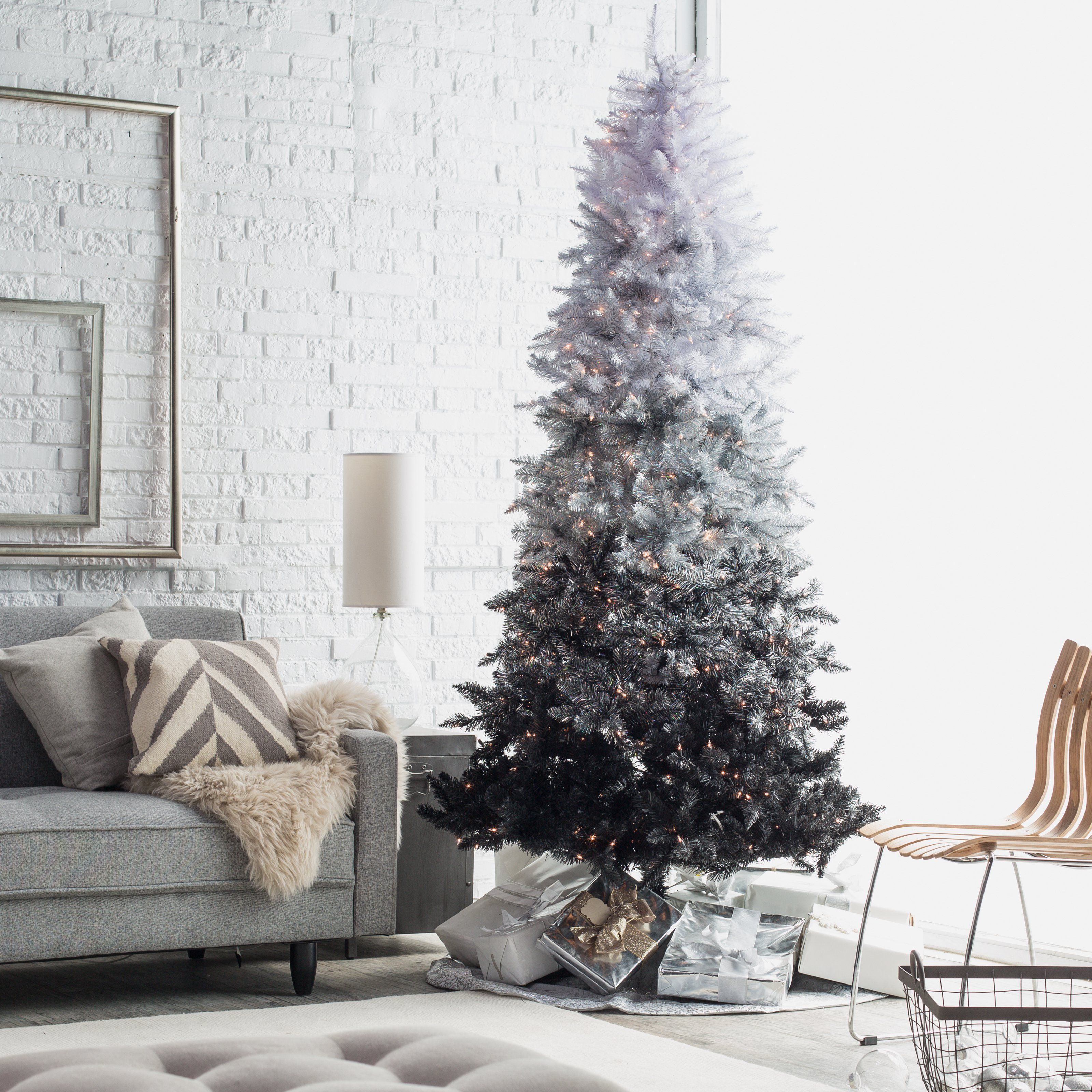 12 Best Black Christmas Tree Ideas - Decorate Black Christmas Trees