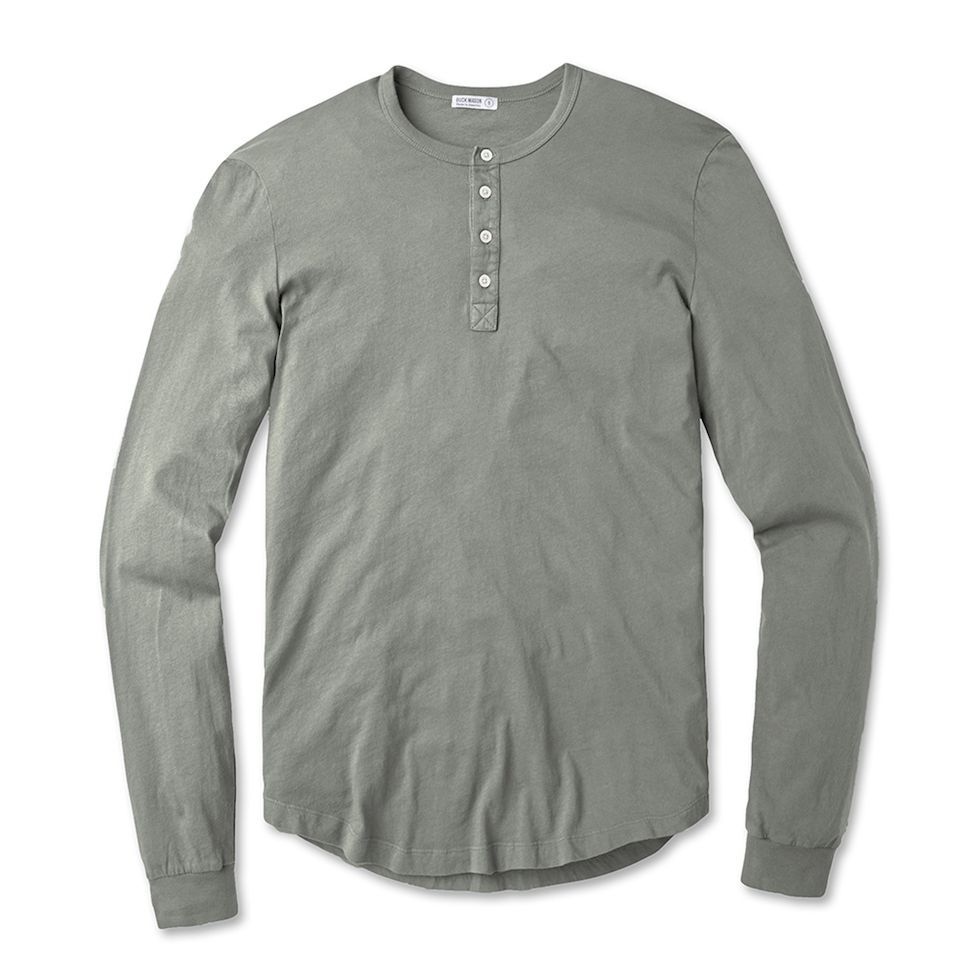 66b8c006 The 11 Best Henley Shirts for Men to Wear Fall 2018