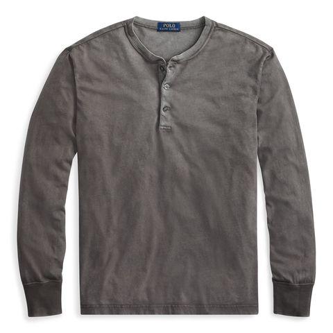 154eafdd5de449 The 11 Best Henley Shirts for Men to Wear Fall 2018