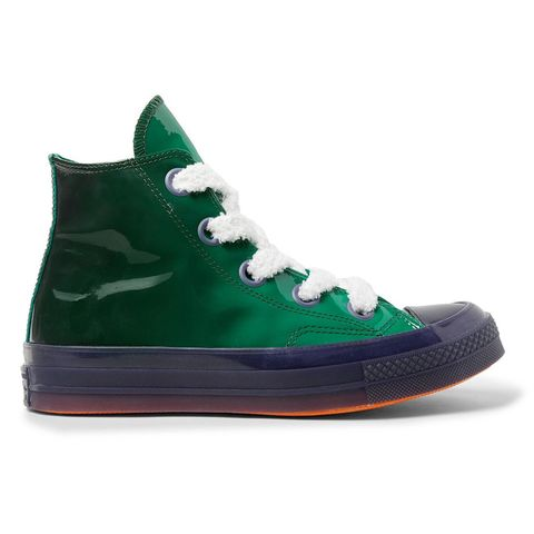 5d9a0dac9e1e Converse + JW Anderson Men s Chuck Taylor All Star Patent-Leather High-Top  Sneakers