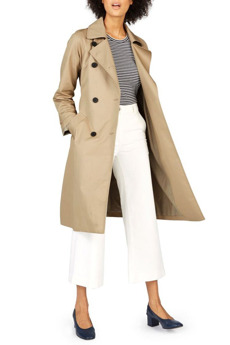 ac235d86e5c42f 10 Best Beige Trench Coats for Fall 2018 - Classic Women's Trench Coats