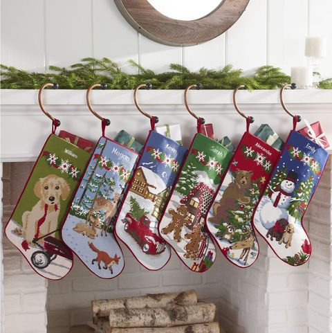 Personalized Needlepoint Christmas Stockings