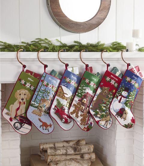 personalized needlepoint christmas stockings - Personalized Stockings Christmas