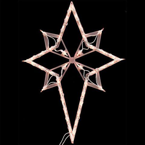 Impact 22 Inch Star Of Bethlehem Christmas Window Decoration
