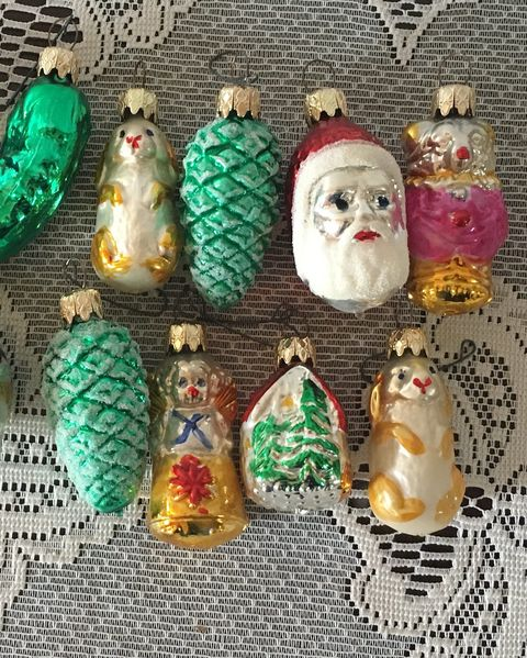 17 Vintage Christmas Decorations Ornaments Pictures Of Old