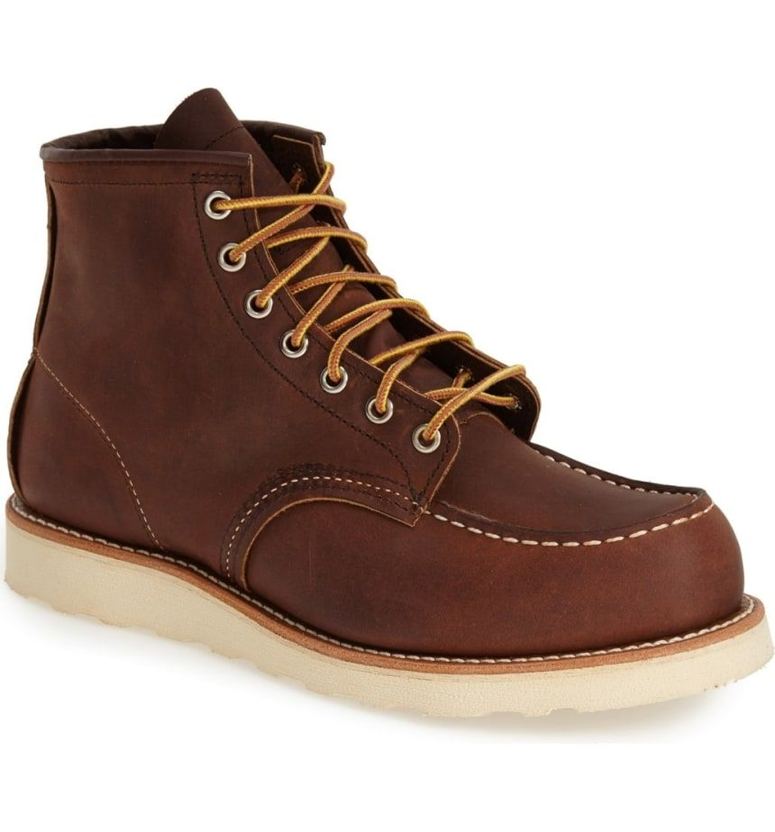 8c34136b339 Red Wing 6-Inch Moc Toe Boot
