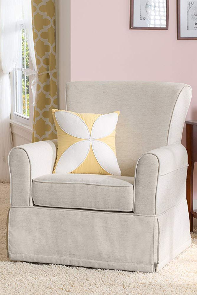 upholstered cozy chair swivel