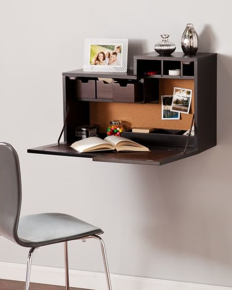 10 Wall-Mounted Desks For Your Small Workspace - Stylish ...