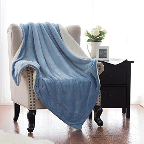 The Best Sherpa Blanket To Keep You Warm All Winter Long Stunning Bedsure Sherpa Blanket Throw Blankets