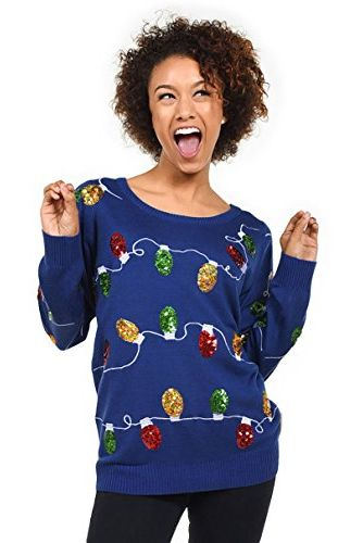 sparkly christmas lights sweater - Best Christmas Sweaters