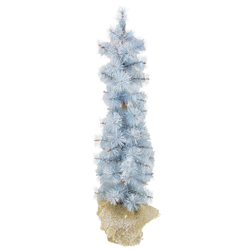 10 best blue artificial christmas trees for 2018 - Frosty Blue Christmas Decorations