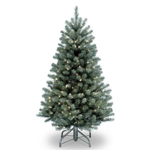 national tree co north valley spruce 75 foot blue christmas tree