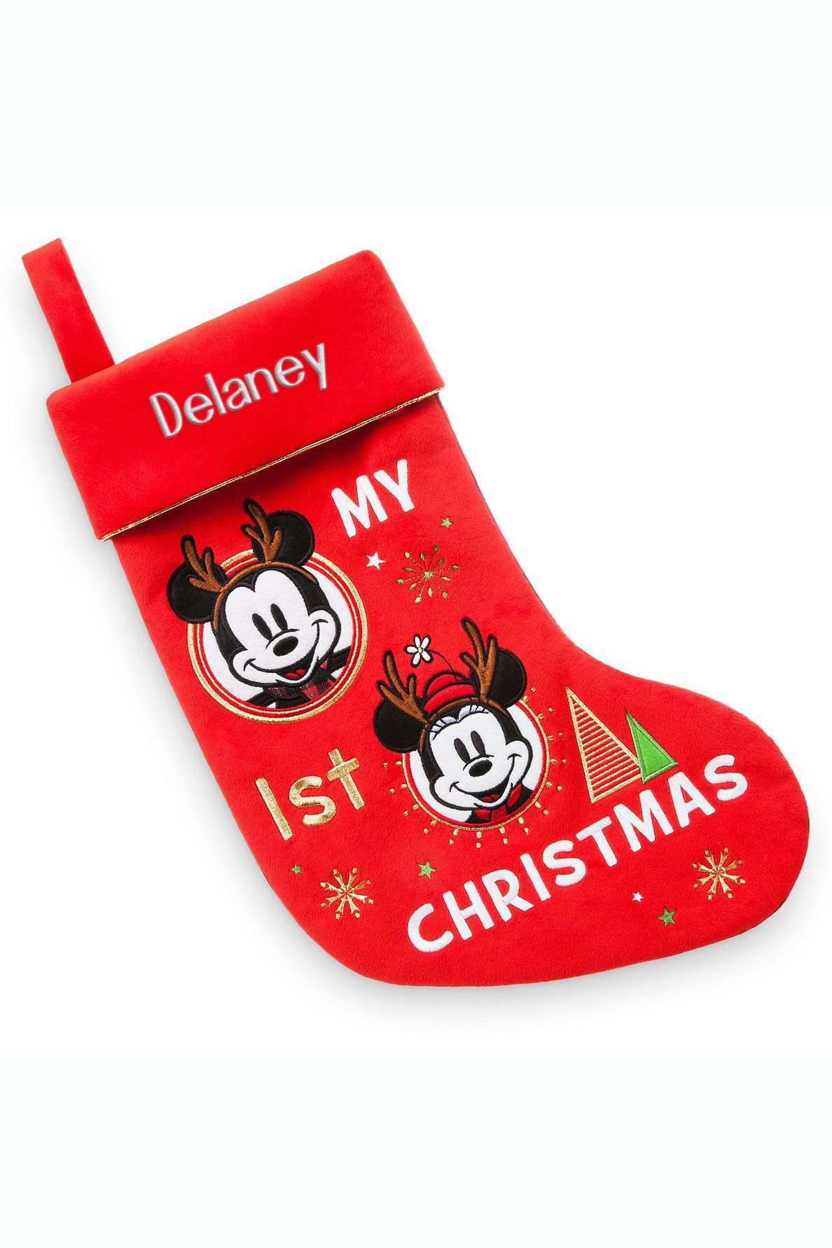 07f3c3fe5 15 Baby's First Christmas Stockings - Cute Ideas for Infant Boy and Girl  Stockings