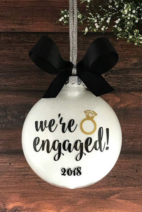 25 Best Engagement Ornaments - Personalized Ornaments for ...