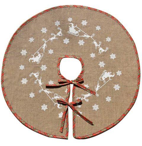amazon reindeer snowflake tree skirt