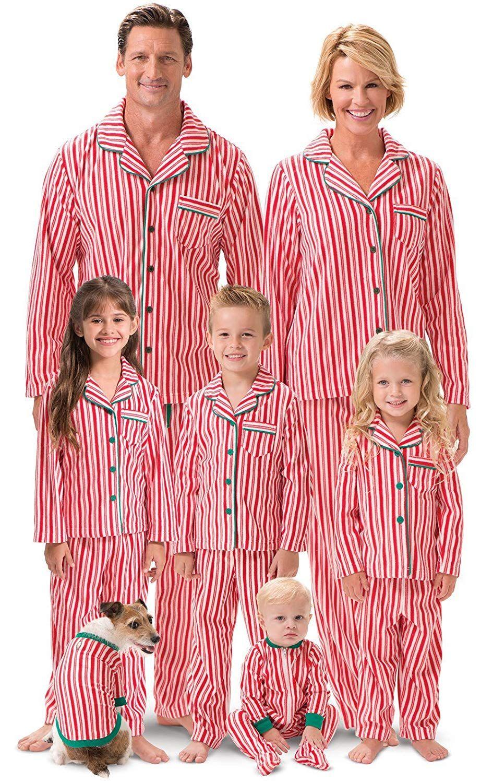 Borlai Family Christmas Pyjamas Matching Sleepwear for Women Men Children Xmas Nightwear Homewear