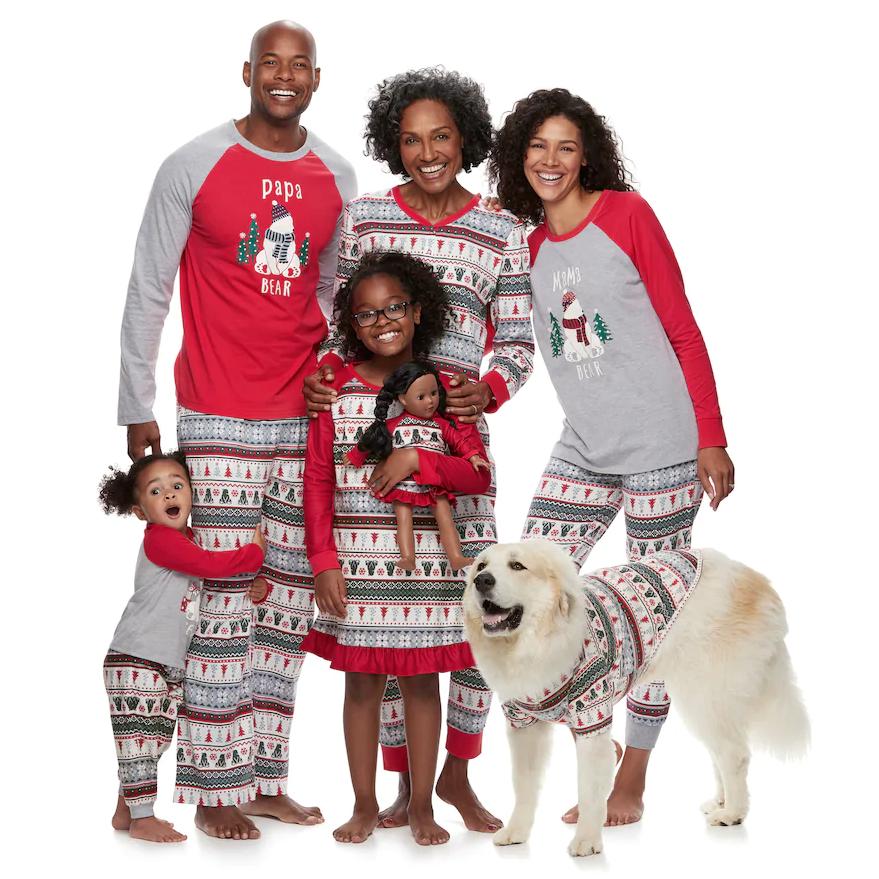 Family Pajama Sets Christmas