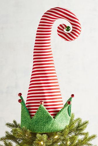 pier 1 imports elf hat christmas tree topper