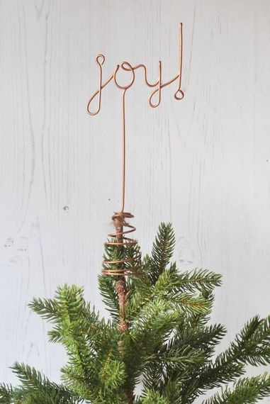 Peace Christmas Tree Topper.20 Unique Christmas Tree Topper Ideas Chic Ways To Top A Tree