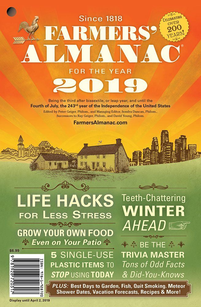 Farmers' Almanac Winter 2019 Weather Forecast: Cold, Snowy ...