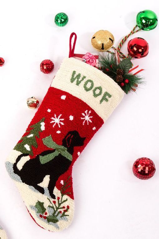1b945385101f1 15 Best Dog Christmas Stocking Ideas - Cute Personalized Stockings for Pets