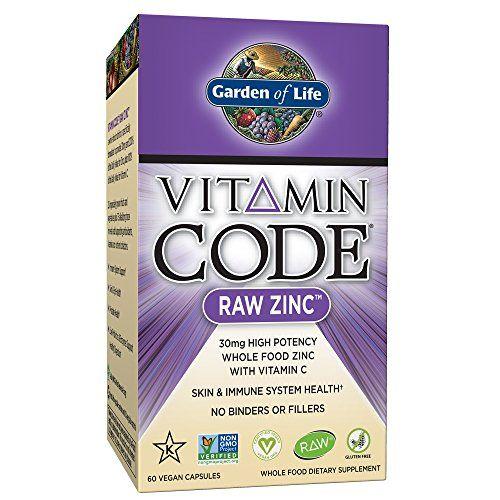 Garden of Life Zinc Vitamin