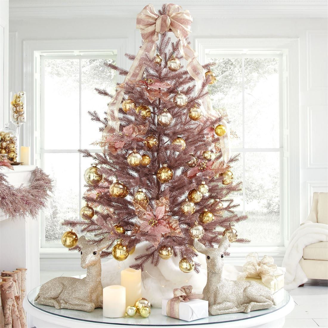 17 best artificial christmas trees 2018 best fake christmas trees - How Many Lights For Christmas Tree