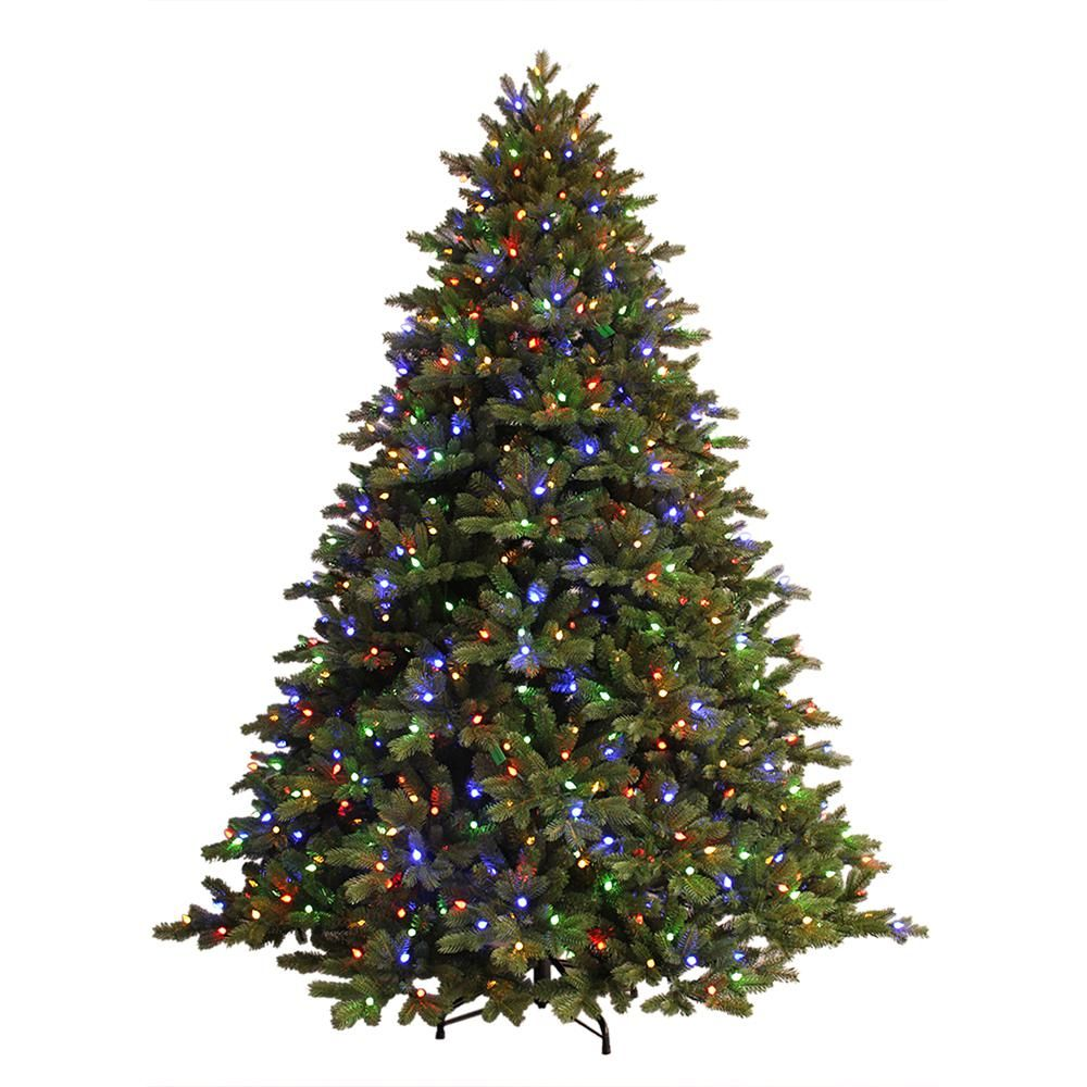 Ge Dual Color Light Norway Spruce 7 5 Feet