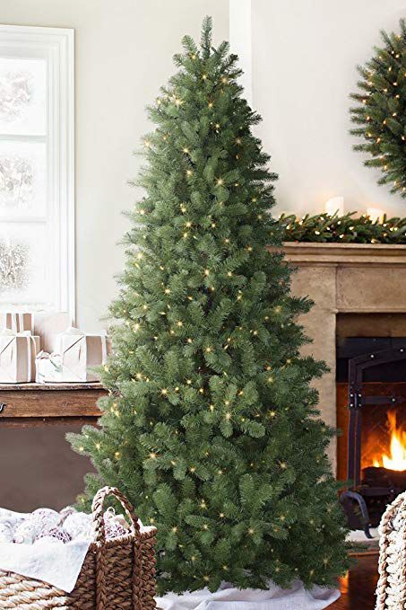17 best artificial christmas trees 2018 best fake christmas trees - Silvertip Fir Christmas Tree