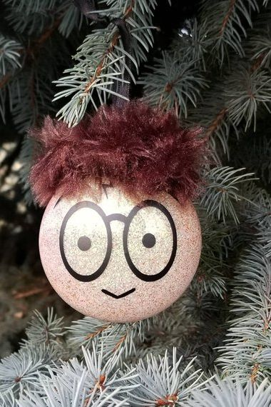 harry potter inspired christmas ornament - Harry Potter Christmas Decorations