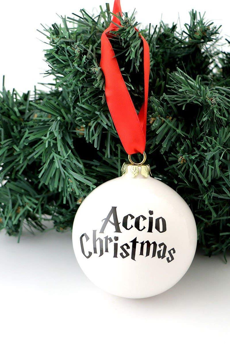 Harry Potter Accio Christmas Ornament