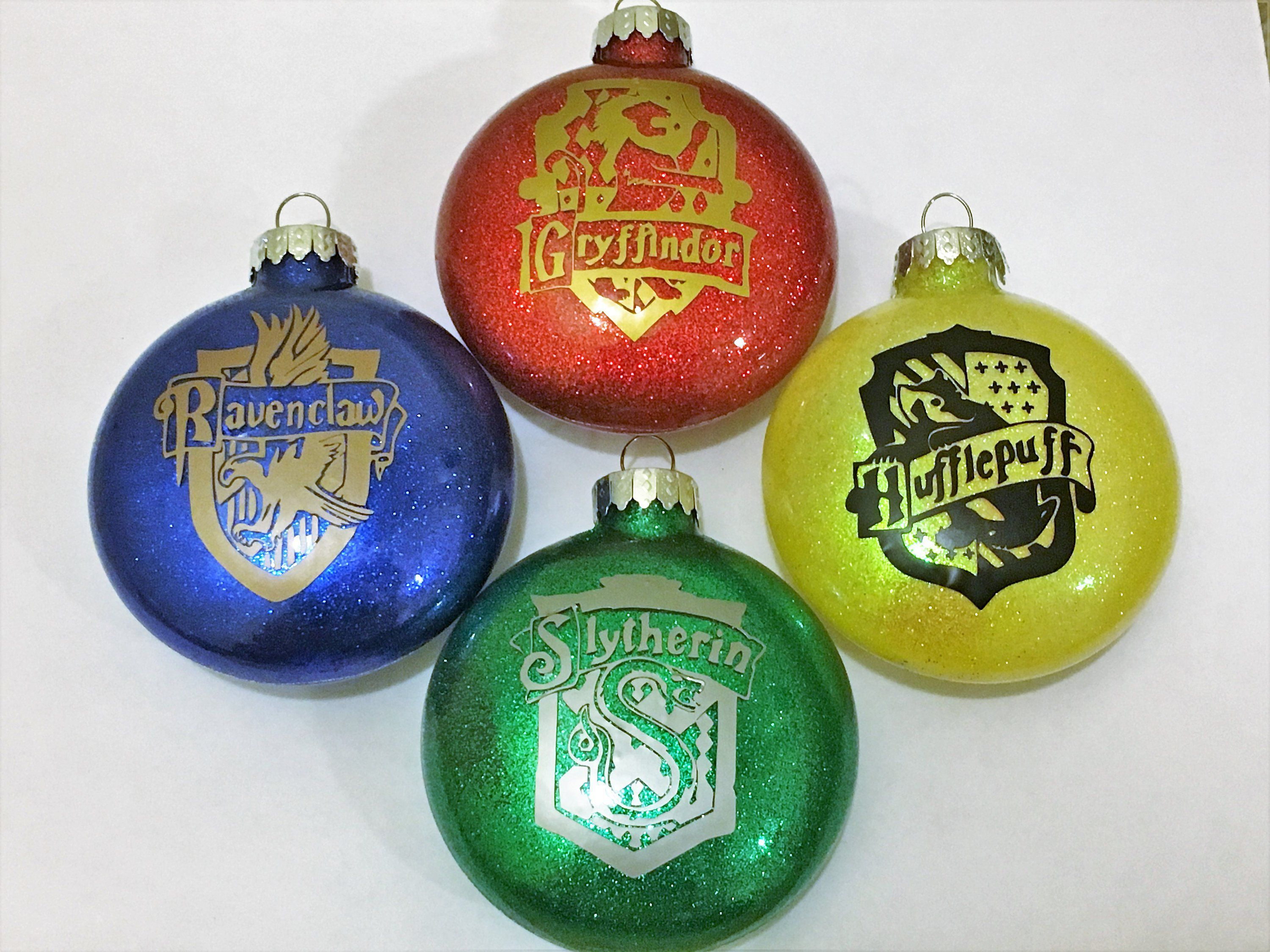 Harry Potter Inspired House Crest Ornament