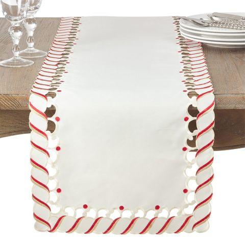 Wayfair Candy Cane Table Runner