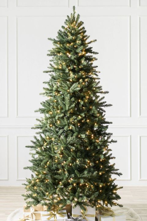 balsam hill - Skinny Christmas Tree Decorating Ideas