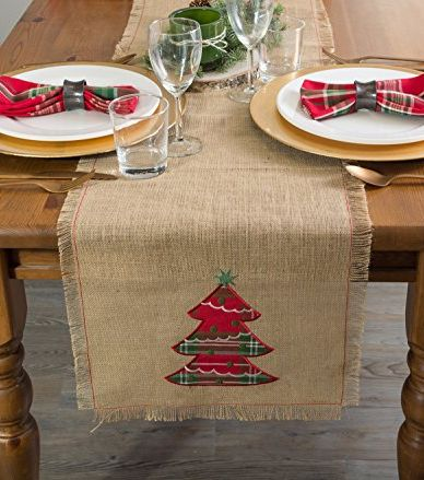 20 Beautiful Christmas Table Runner Ideas Best Holiday