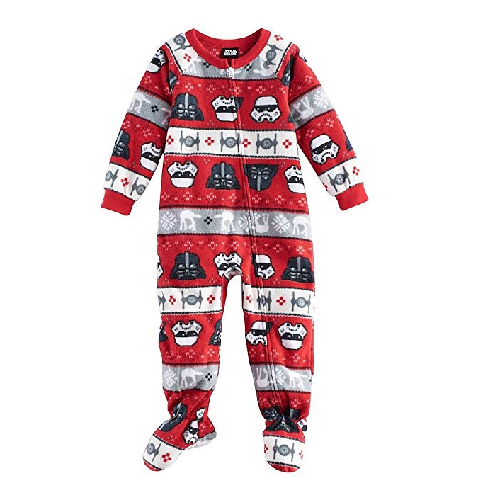 Kids Christmas Pajamas.Star Wars Toddler Boy S Fleece Pajamas
