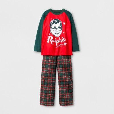 a christmas story ralphie pajama set - Plaid Christmas Pajamas