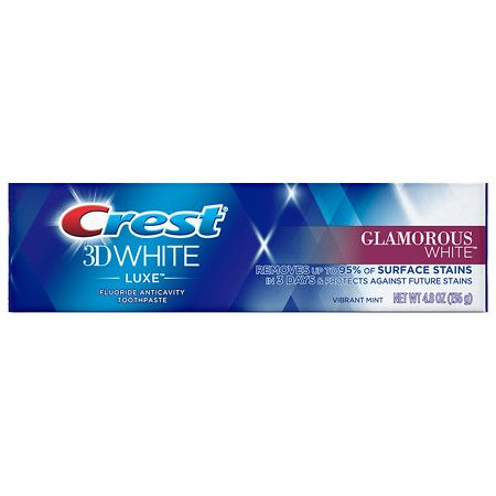 Crest 3D White Luxe Glamorous White Toothpaste Vibrant Mint
