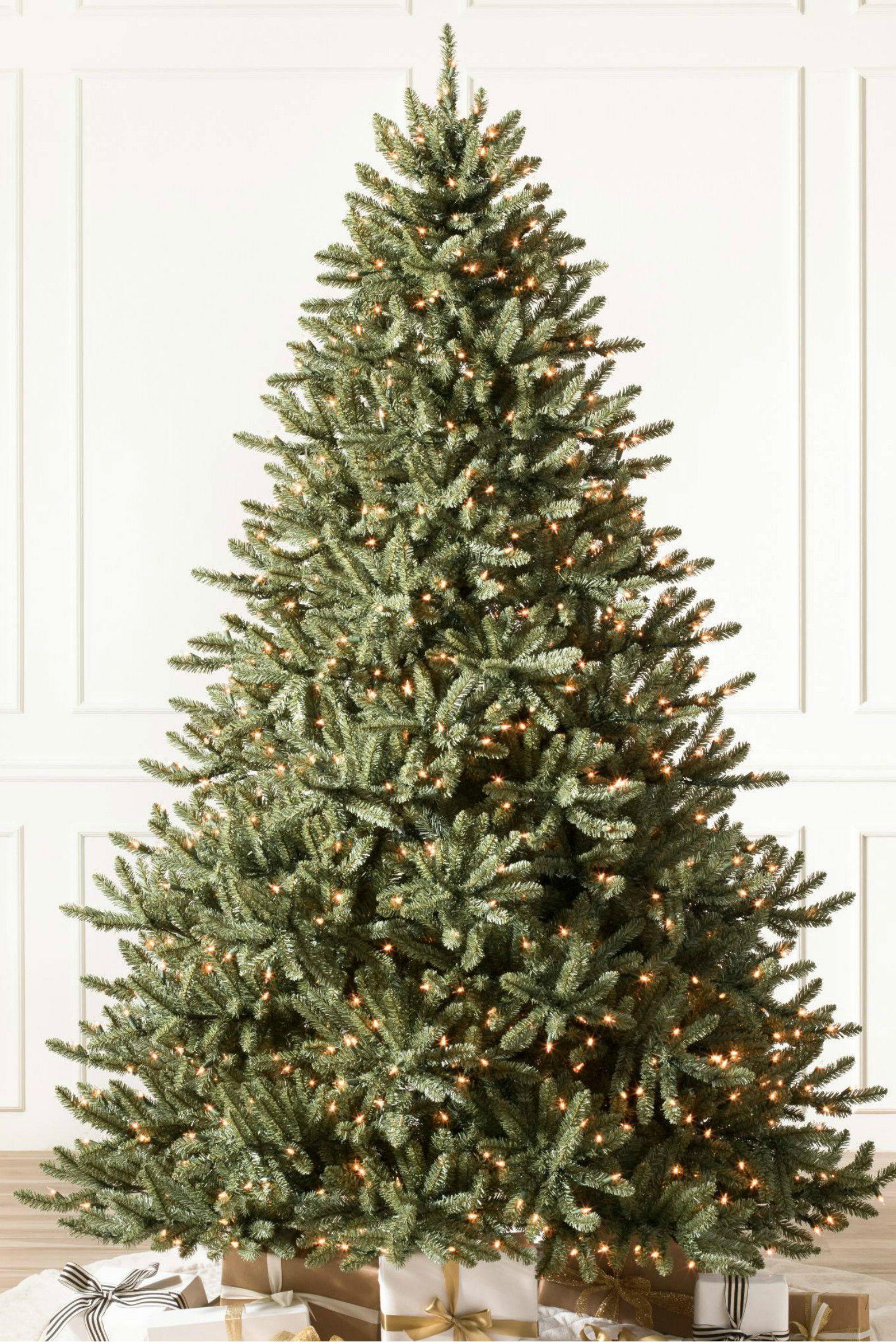 24 best artificial christmas trees where to buy fake christmas trees - Blue Spruce Artificial Christmas Tree