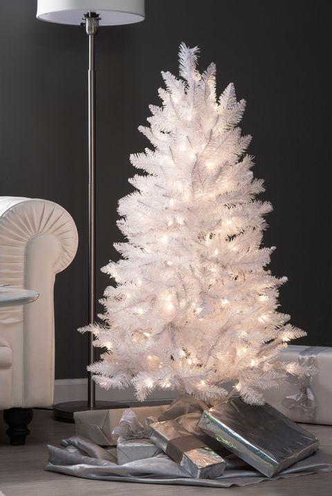 Artificial White Christmas Tree