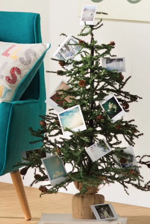 short faux christmas tree