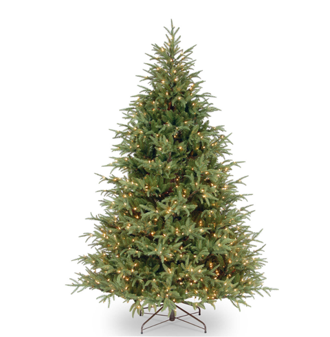 Artificial Christmas Tree With Clear Lights