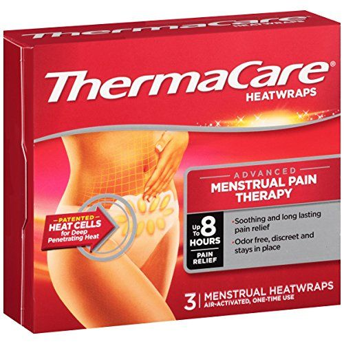 ThermaCare Advanced Menstrual Pain Therapy Heatwraps