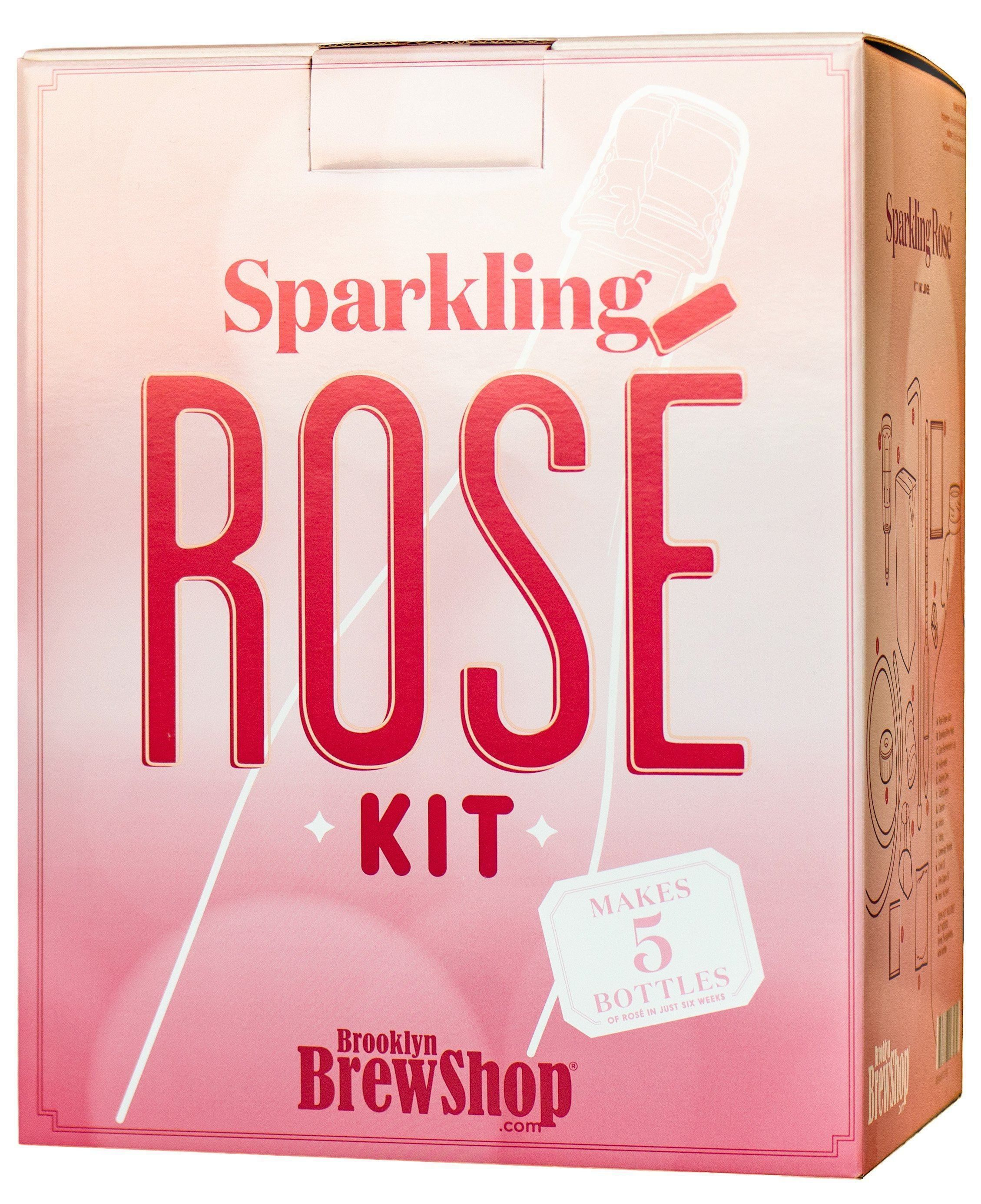 Summers not over yet heres where to buy a diy sparkling rose kit sparkling ros wine making kit solutioingenieria Choice Image