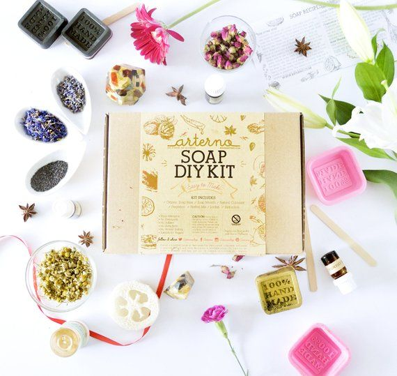 Arterno. DIY Organic Soap Kit  sc 1 st  Good Housekeeping & 55+ DIY Christmas Gift Ideas - Easy Homemade Holiday Gifts