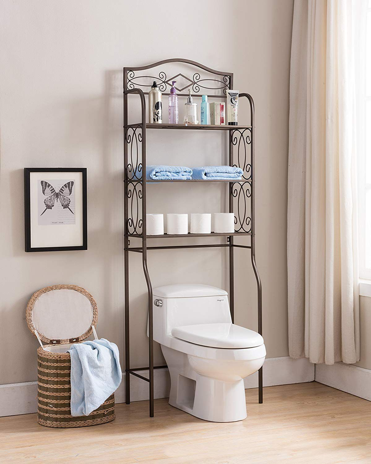 18 Small Bathroom Storage Ideas - Wall Storage Solutions and Shelves for Bathrooms