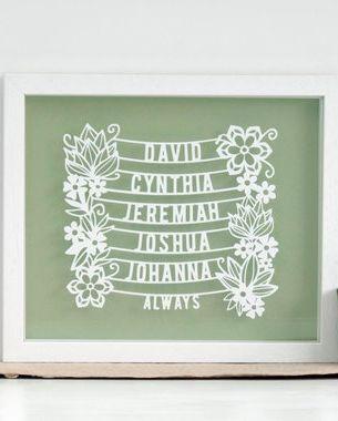 15 Cool Family Tree Wall Art Ideas Custom Decor To Show Family Tree